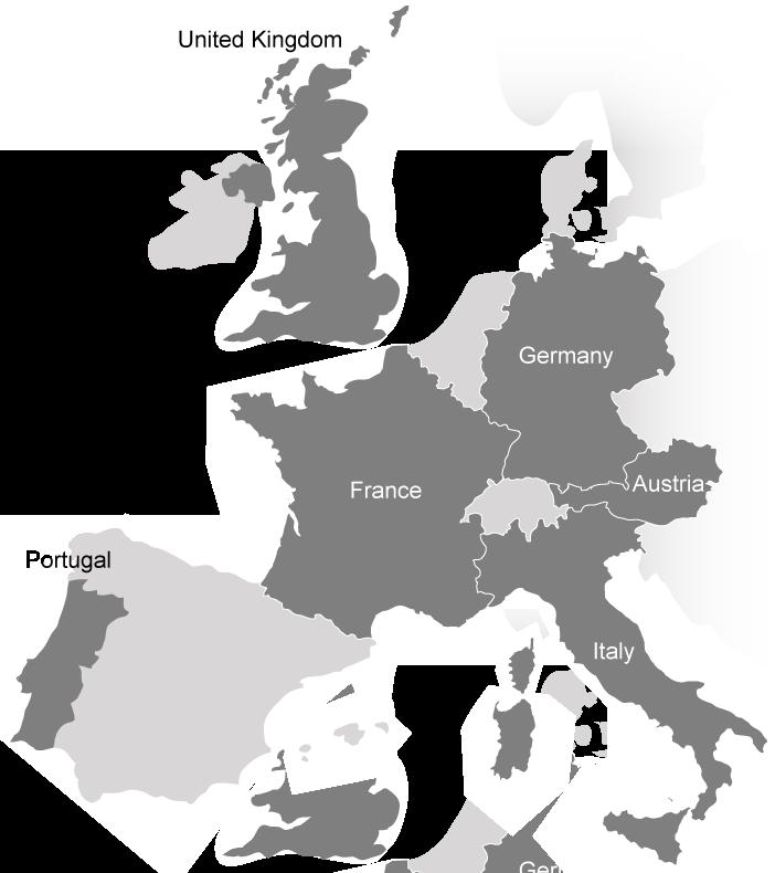 carte partenaires européens