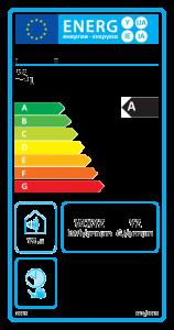 Energielabel für: Konventionelle Warmwasserbereiter