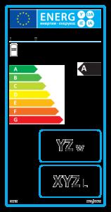Energielabel für: Warmwasserbereiter